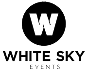 White Sky Events Logo